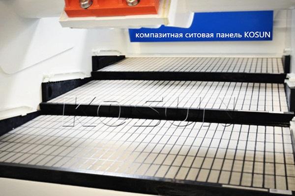 Ситовые панели для вибросит