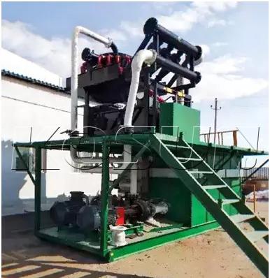 Ситогидроциклонная установка для очистки бурового раствора